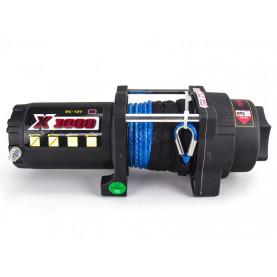 Лебедка для квадроцикла MW X3000S синтетический трос (1350кг)