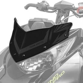 """7639-692 Стекло ветровое ультра-короткое 11.5"""" (29,2см) черное М8000/Alpha 7639-692"""