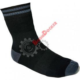Носки «Antu» Thermo Waterproof размер L (43-46) черный/серый (CY102)