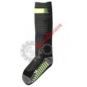 Носки гетры «Antu» Thermo Waterproof размер S (36-38) черный/серый (CY021)