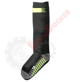Носки гетры «Antu» Thermo Waterproof размер M (39-42) черный/серый (CY021)