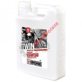 800050 Масло моторное полусинтетическое IPONE ROADTWIN 4T 15W-50 4 литра