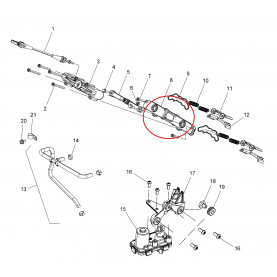 1204992 Крышка RAVE клапанов ASM., EXHAUST VALVE BASE 1204992