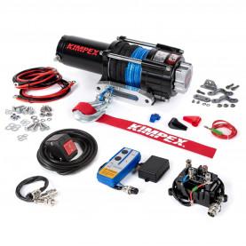 458244 Лебедка электрическая с синтетическим тросом KIMPEX 3500 LBS (1587 кг) 458244