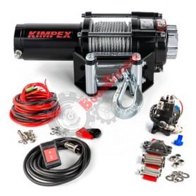 458211 Лебедка электрическая со стальным тросом KIMPEX 3500 LBS (1587 кг) 458211