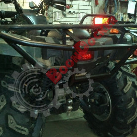 Бампер задний усиленный Yamaha Grizzly 550-700