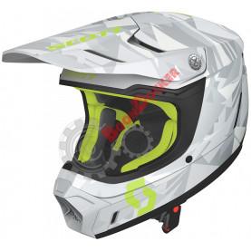 Шлем Scott 350 EVO Team ECE, размер XXL, серо-желтый SC_268023-1120010