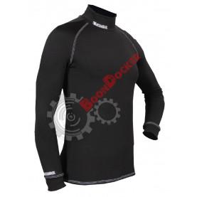 Кофта мужская Starks Wear Warm Long shirt черная размер XXL