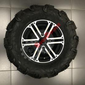 Комплект колес (шина Maxxis Zilla 26х9х12, 26х11х12) с дисками 4х110 R12