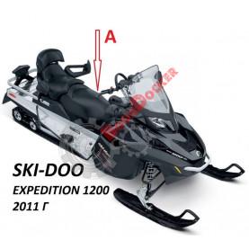 Чехол ремонтный комплект перетяжки водительского сиденья Ski-Doo/Lynx REV-XU