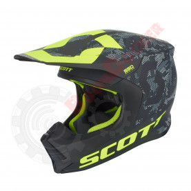 Шлем Scott 550 Camo ECE размер L черно-желтый SC_264413-1040008