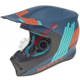 Шлем Scott 550 Stripes ECE размер M темно-синий SC_268018-0188007
