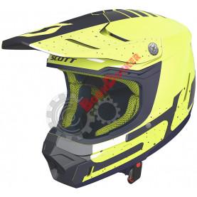 Шлем Scott 350 EVO Team ECE, размер L, желто-синий SC_268021-6019008