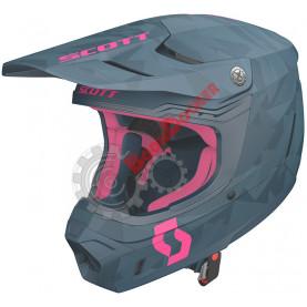 Шлем Scott 350 EVO Team ECE, размер M, сине-розовый SC_268023-6017007