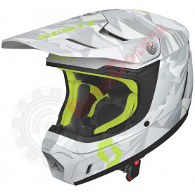Шлем Scott 350 EVO Team ECE, размер XL, серо-желтый SC_268023-1120009