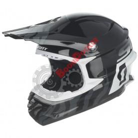 Шлем Scott 350 Pro Race ECE черно\\белый, размер XXL