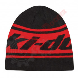 Шапка двусторонняя Ski-Doo Reversable Beanie черно-красная One size 4475770090