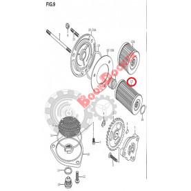 16510QM07000 Фильтр масляный QM250GY-2A, QM250GY-2B 16510QM07000