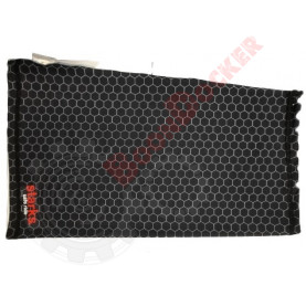 Повязка бафф на шею Starks NECK TUBE print соты черный безразмерный