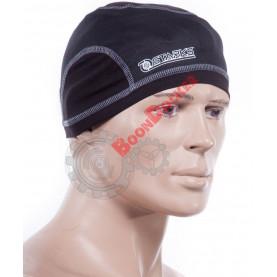 Подшлемник шапочка Half черный безразмерный
