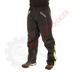 Дождевые брюки Dry Rain DR 219 мужские серо/салатовые, размер XL