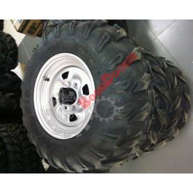 Комплект колес (шина Maxxis MU20 25х8х12, х10х12) с дисками 4х110 R12