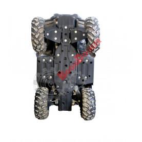 ПР21079 Защита днища PanzerBox комплект для квадроциклов CF Moto X8 EPS/X10 EPS