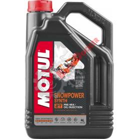 108210 Масло моторное синтетическое для снегоходов MOTUL SNOWPOWER SYNT 2T 4 литра