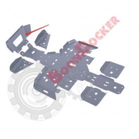 4.7403.2-1 Защита передняя, радиатора Polaris Sportsman 500 Touring HO 2012-  №4.7403.2-1