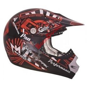 """Шлем кроссовый """"CKX TX218 PURSUIT"""" красный размер M"""