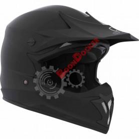 """Шлем кроссовый """"CKX TX696 SOLID"""" черный матовый размер M"""
