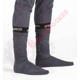 Термоноски Starks Warm Fleece унисекс серые размер L 44/46
