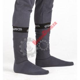 Термоноски Starks Warm Fleece унисекс серые размер M 40/43