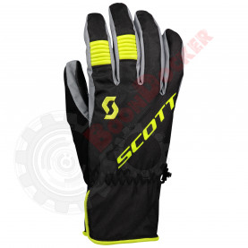 Перчатки мужские SCOTT Arctic GTX черно-жёлтые, размер L SC_278618-6802008