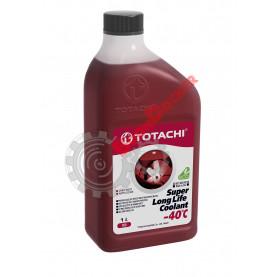Антифриз TOTACHI SUPER LONG LIFE COOLANT красный -40°C 1 литров