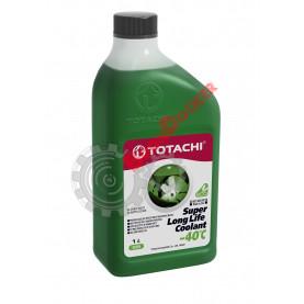 Антифриз TOTACHI SUPER LONG LIFE COOLANT зеленый -40°C 1 литров