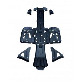 18027 ПР18027 Защита днища BPR OUTLANDER G2/G2 MAX 500,650,800,1000 пластик 8-9 мм 2013-2017 ПР18027