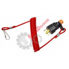 MR-01027 Кнопка стоп выключения двигателя в сборе с чекой MR-01027