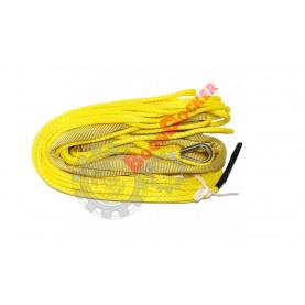 Трос синтетический Dyneema 6 мм - 15 метров без крюка для лебедок 3500-4500 W2535