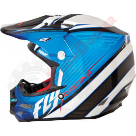 73-4113L Шлем кросс FLY Racing F2 CARBON FASTBACK  размер L 73-4113L