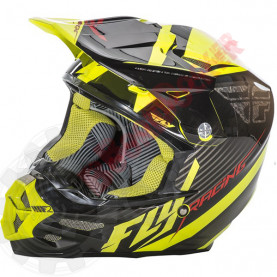 73-4114L Шлем кросс FLY Racing F2 CARBON FASTBACK  размер L 73-4114L