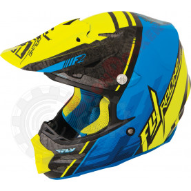 73-4093L Шлем кросс FLY Racing F2 CARBON FASTBACK  размер L 73-4093L