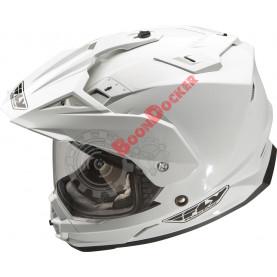Шлем Fly Racing Trekker белый размер M 73-7003M