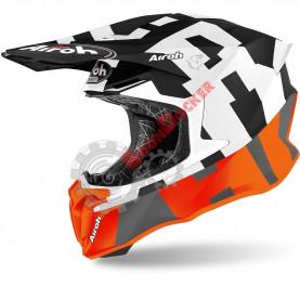 Шлем Airoh Twist 2.0 Frame orange matt размер L AI34A13TW21AC_L