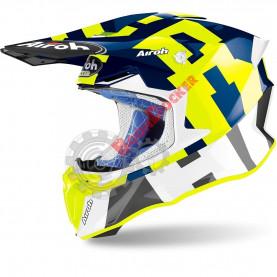 Шлем Airoh Twist 2.0 Frame blue gloss размер L AI34A13TW21QC_L