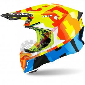 Шлем Airoh Twist 2.0 Frame yellow gloss размер L AI34A13TW21OC_L