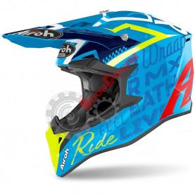 Шлем Airoh Wraap Street Azure gloss размер M AI32A13919WZS_M