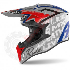 Шлем Airoh Wraap Street Grey metall gloss размер L AI32A13919WLS_L