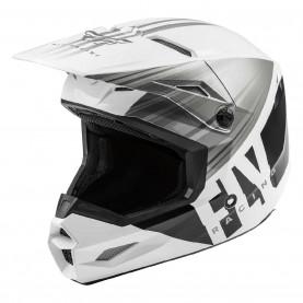 "Шлем KINETIC K220 ECE 2020"" белый/серый/черный глянец XXL"