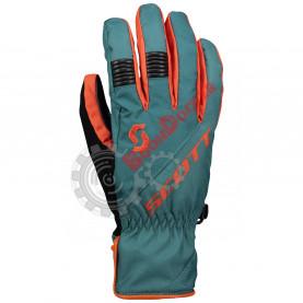 Перчатки мужские SCOTT Arctic GTX черно-зелено-оранжевые, размер XXL SC_278618-6640010